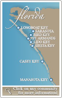 Sarasota MLS Search by Area Map